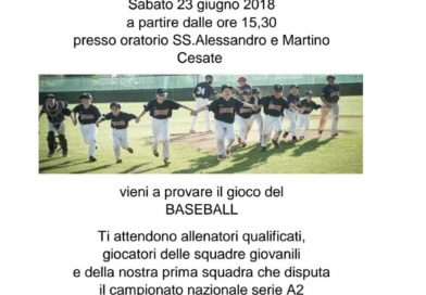 Open day all'oratorio di Cesate