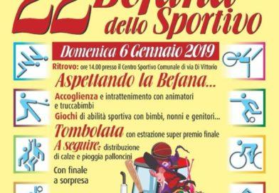 Festa della Befana dello sportivo a Senago