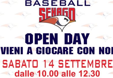 Sabato 14 settembre Open Day